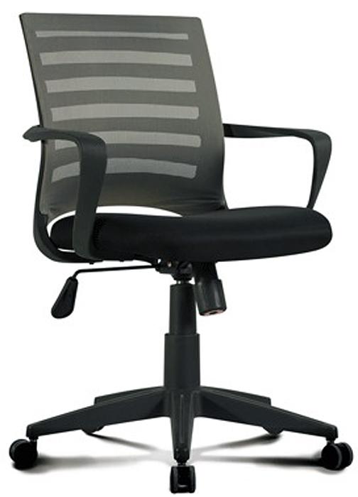 Кресло оператора Brabix Carbon MG-303, цвет: черный, серый530869Яркое и современное кресло, сочетающее в себе новейшие высокотехнологичные материалы и эргономичную конструкцию. Сиденье - практичная, стойкая к выцветанию мебельная ткань TW.Материал обивки спинки - прочная акриловая сетка. Механизм качания Top-Gun с регулировкой под вес сидящего позволяет изменять высоту сиденья, а также фиксировать наклон кресла в рабочем положении. Эргономичная профилированная спинка.Механизм Top-Gun.Подлокотники и пятилучие - пластиковые, повышенной прочности.Рекомендуемая нагрузка на кресло до 100 кг.Цвет обивки - черный, серый.