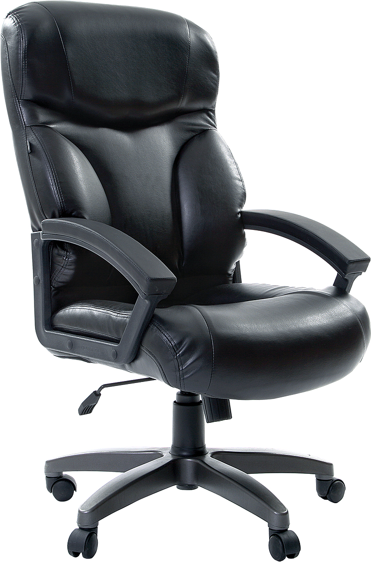 Кресло офисное Brabix Vector EX-559, цвет: черный531385Солидное кресло руководителя по приемлемой цене. Модель обладает повышенной эргономикой с выраженной боковой поддержкой спины. Для отделки используется высококачественная экокожа премиум. Модель оснащена механизмом качания.Материал обивки - экокожа премиум (материал на хлопковой основе).Механизм качания Top-Gun с регулировкой под вес и фиксацией. Рекомендуемая нагрузка на кресло до 120 кг.Спинка с выраженной боковой поддержкой.Подлокотники из прочного пластика с мягкими накладками.Прочное литое пластиковое пятилучие.Подлокотники и пятилучие - серого цвета.Газпатрон - 3 категории по стандарту Germany DIN 4550.Цвет обивки - черный.