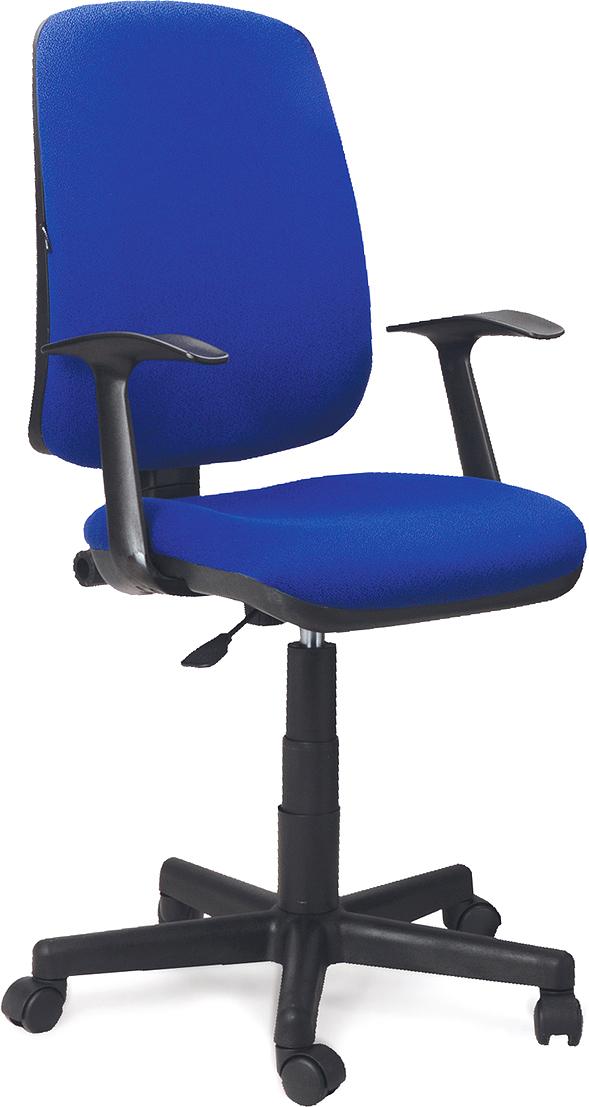 Кресло оператора Brabix Basic MG-310, цвет: синий531413Доступное, современное кресло универсального назначения, подходящее как для офиса, таки для дома. Модель оснащена механизмом«Перманент-контакт», который позволяет регулировать наклон, высоту спинки и глубинупосадки кресла.Материал обивки - износоустойчивая мебельная ткань JP.Механизм Up&Down позволяет подбирать нужную высоту кресла.Регулируемая высота и угол наклона спинки.Рекомендуемая нагрузка на кресло до 90 кг.Подлокотники и пятилучие - пластиковые.Цвет обивки - синий.