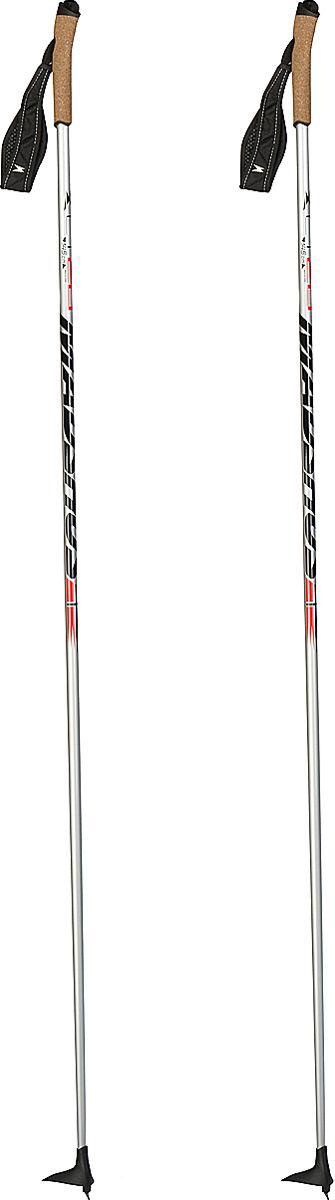Палки лыжные Madshus CT 20 Ski Poles, цвет: серебряный, длина 155 смN139004Прогулочные палки с эргономичной пробковой рукояткой и регулируемым ремешком. Эргономичная пробковая рукоятка и регулируемый темляк для максимального удобства во время катания. Легкое древко выполнено из карбона и стекловолокна.