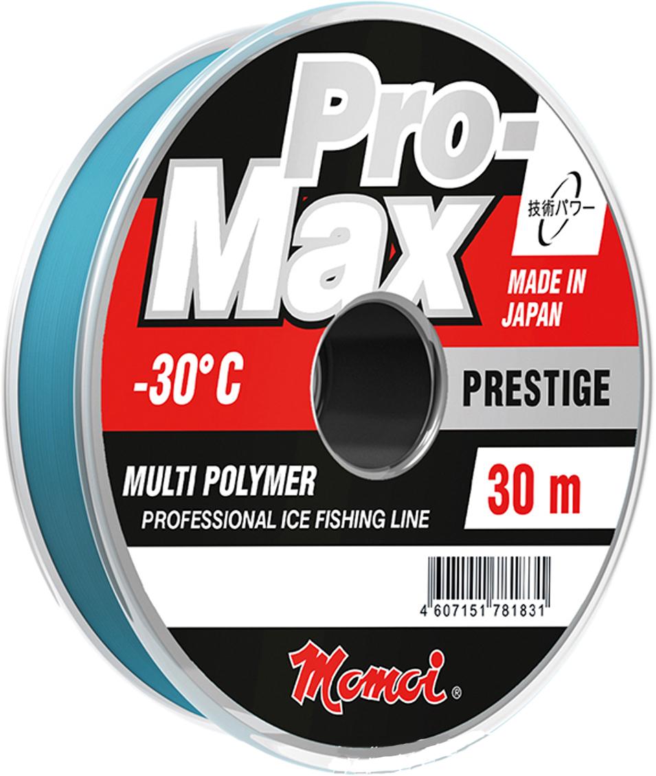 Леска зимняя Momoi Fishing Pro-Max Prestige, 0,191 мм, 4,2 кг, 30 м4769Спортивная рыболовная лескаPro-MaxPrestigeотносится к профессиональным лескам, в которых каждый миллиметр диаметра строго заявлен и играет свою роль при поклевке рыбы. Имеет сверхточную калибровку до тысячных диаметра в миллиметрах.