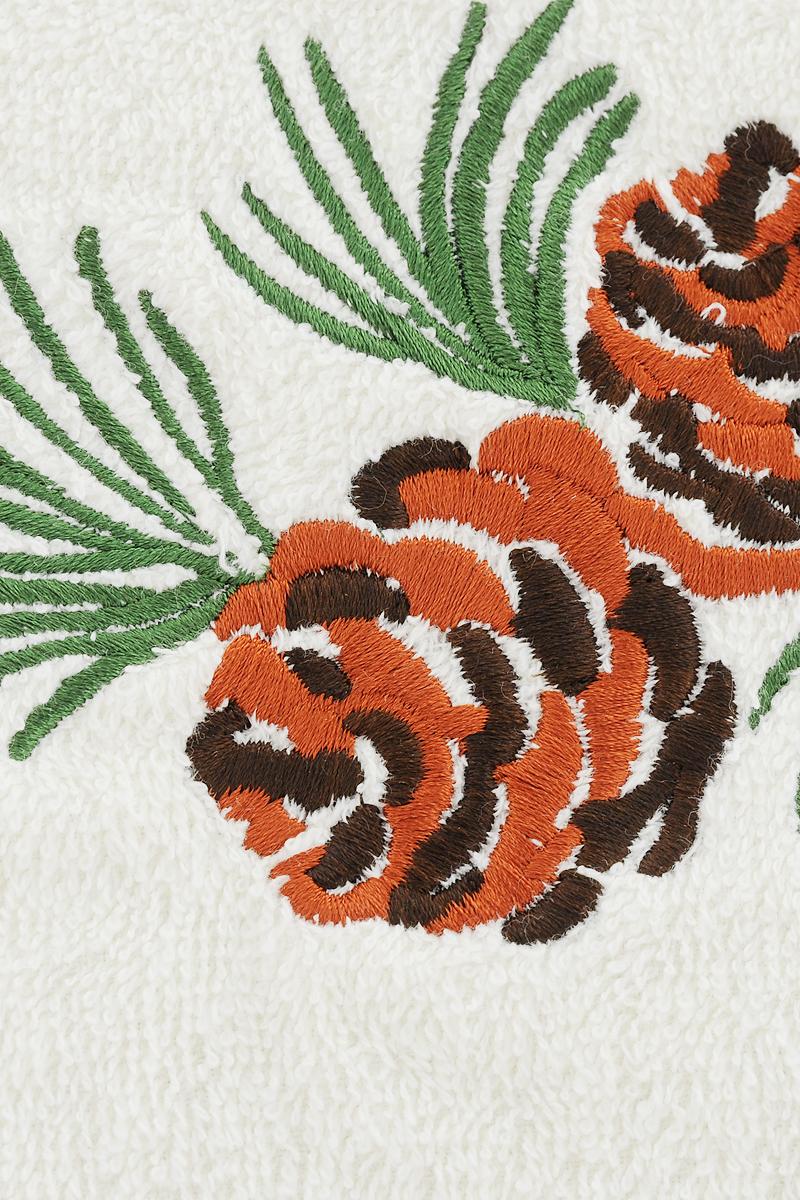 Набор Bravo состоит из трех махровых полотенец, выполненных из натурального 100% хлопка и украшенных нашивками в виде шишек. Изделия отлично впитывают влагу, быстро сохнут, сохраняют яркость цвета и не теряют формы даже после многократных стирок. Полотенца Bravo очень практичны и неприхотливы в уходе.