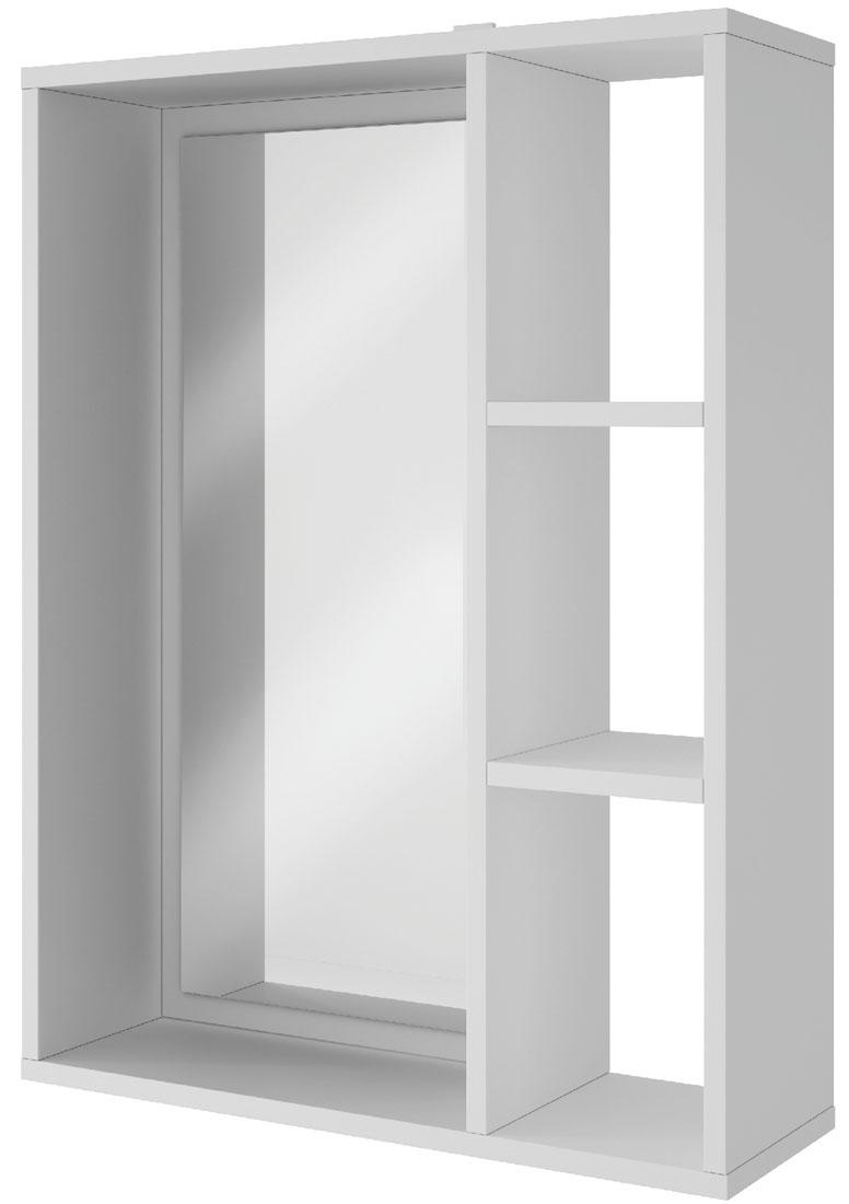 Полка Manhattan Comfort Bath, цвет: белый полка стеллаж manhattan comfort bx 31 06