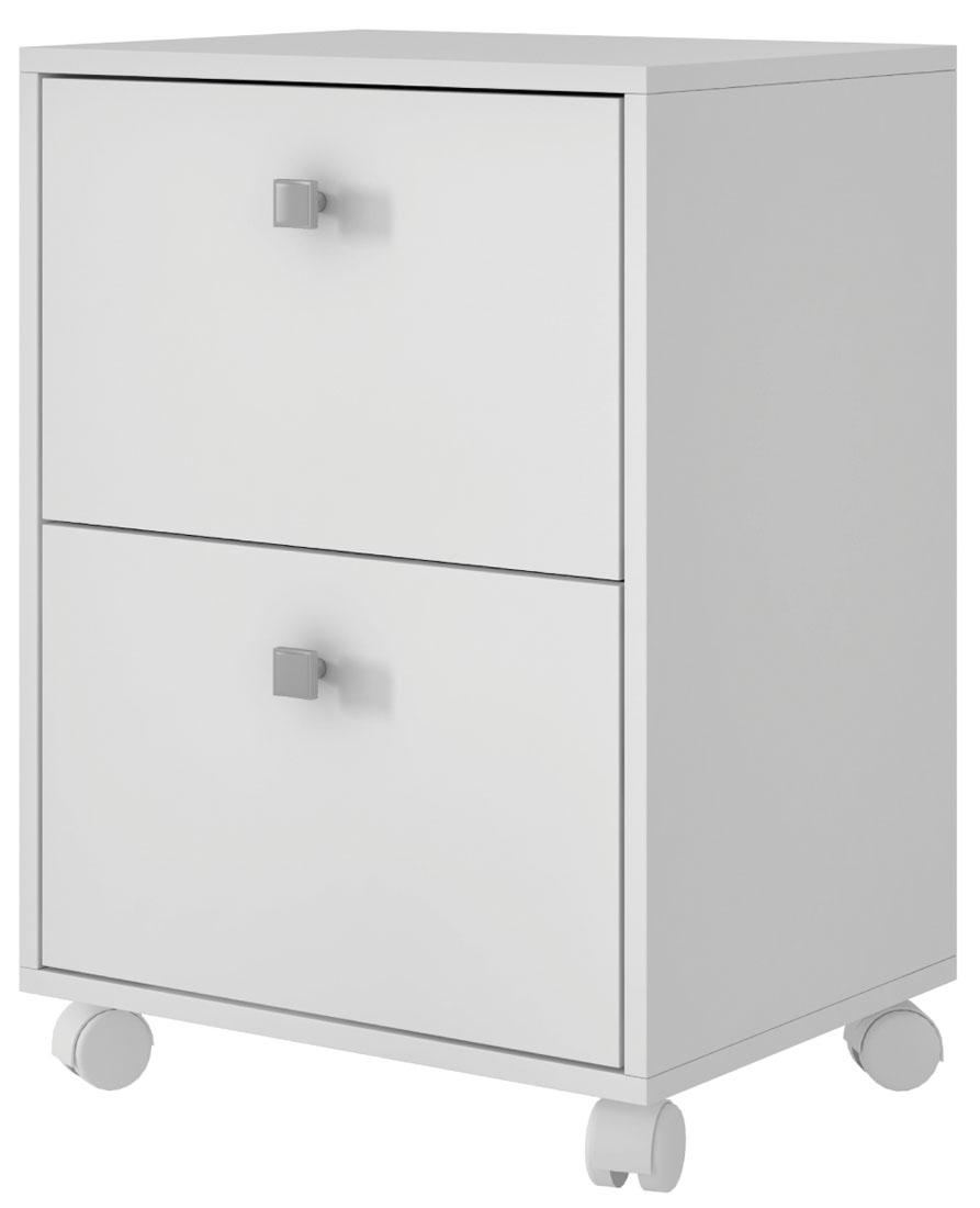 Тумба Manhattan Comfort Dali 2.0, цвет: белыйBHO 26-06Функциональная тумба с тремя выдвижными ящиками для спальни, гостиной. Ручки ящиков выполнены в виде кольца-отверстия.