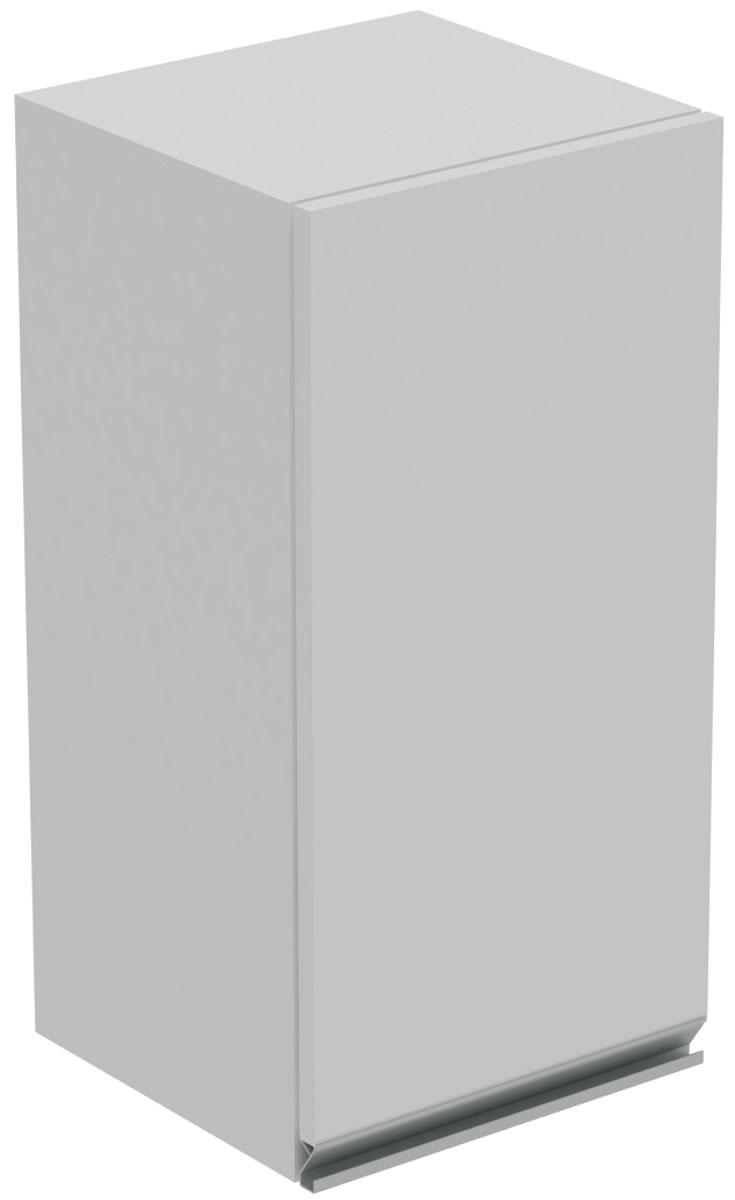 Шкаф Manhattan Comfort Clean 2.0, цвет: белый шкаф с полками дсп и зеркальной дверью орион