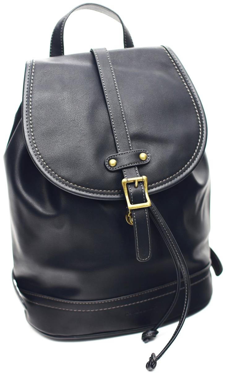Рюкзак женский David Jones, цвет: черный. 5601-3 BLACK