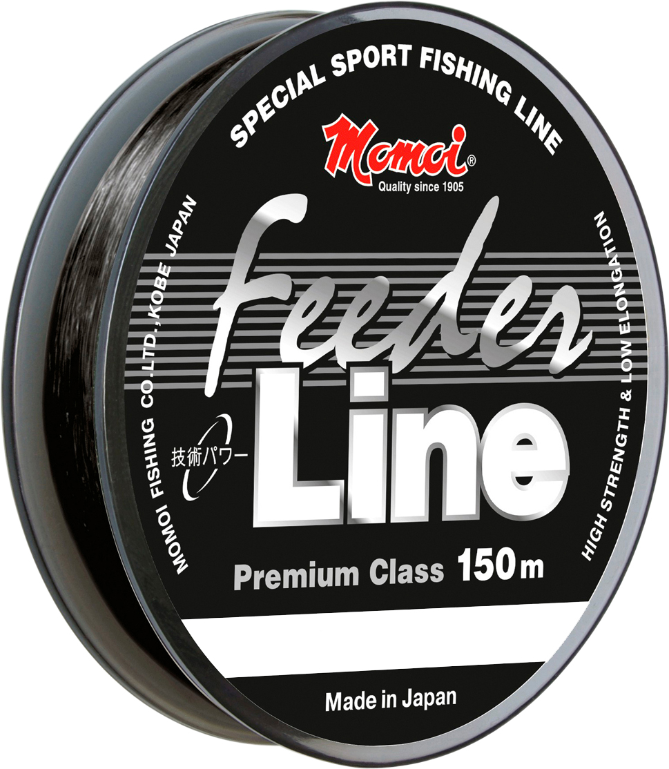 Леска Momoi Fishing Feeder Line, 150 м, 0,19 мм, 4,0 кг