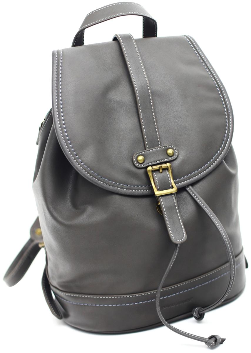 Рюкзак женский David Jones, цвет: серый. 5601-3 D/GREY рюкзак женский david jones цвет красный cm3717 red