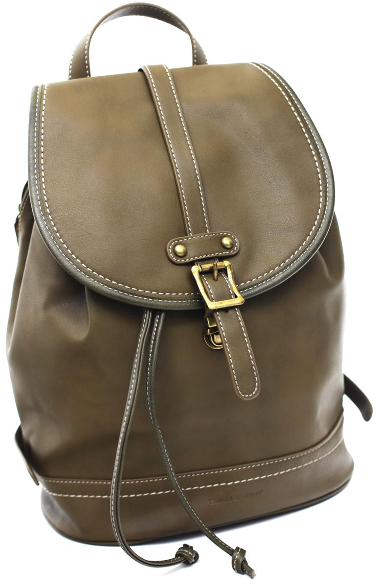 Рюкзак женский David Jones, цвет: бежевый. 5601-3 KHAKI рюкзак женский david jones цвет красный cm3717 red