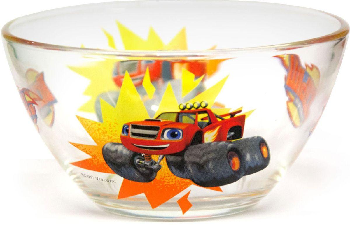 ND Play Салатник Вспыш и чудо-машинки Вспыш Скорость 12,5 см 272029272029Салатник с изображением героя из мультсериала Вспыш и чудо-машинки - отличный подарок для вашего ребенка!Стеклянный салатник подходит для холодных и горячих напитков, а также пригоден для мытья в посудомоечной машине. Не рекомендуется подвергать изделие длительному воздействию прямых солнечных лучей.