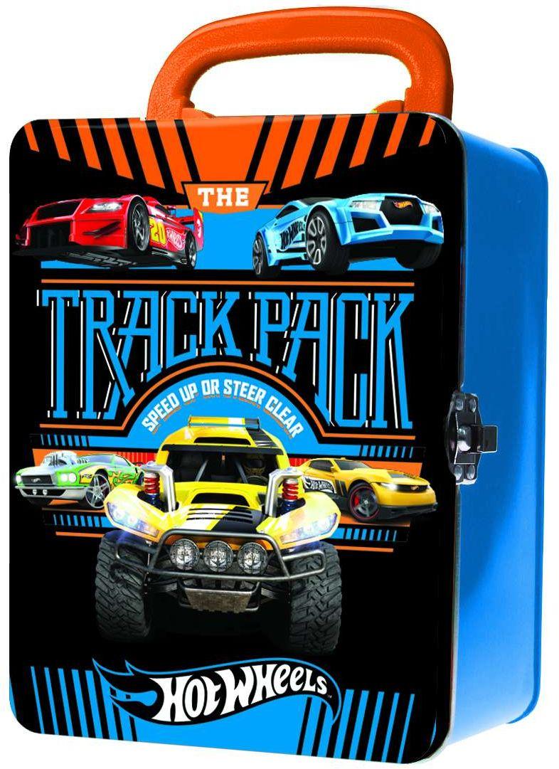 Hot Wheels Портативный кейс для хранения 18 машинок цвет синий