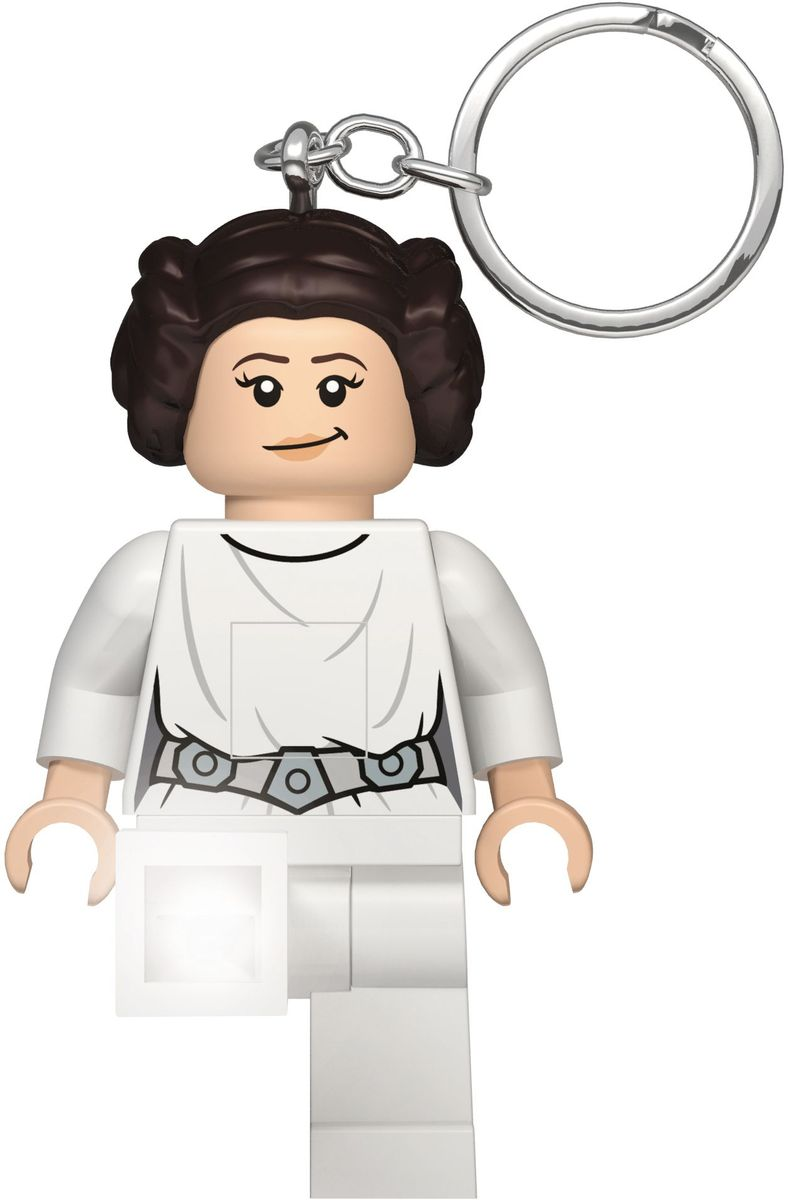 LEGO Брелок-фонарик для ключей Star Wars Принцесса Лея lego lego брелок для ключей джестро