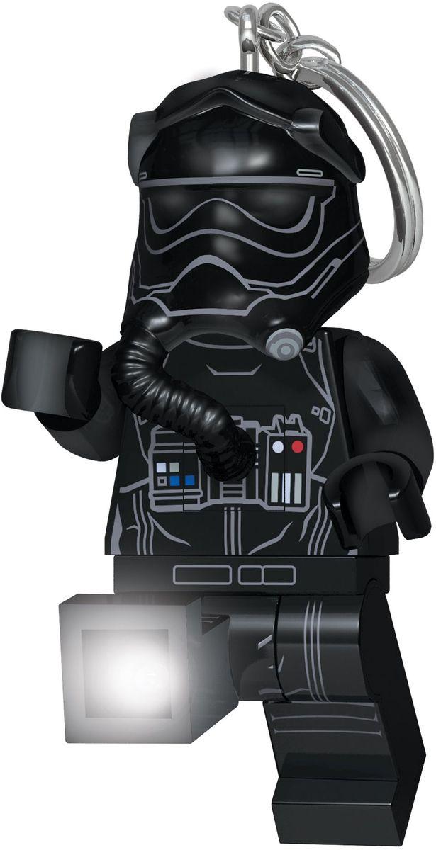 LEGO Брелок-фонарик для ключей Star Wars Пилот истребителя TIE (Первый орден) lego lego брелок для ключей джестро