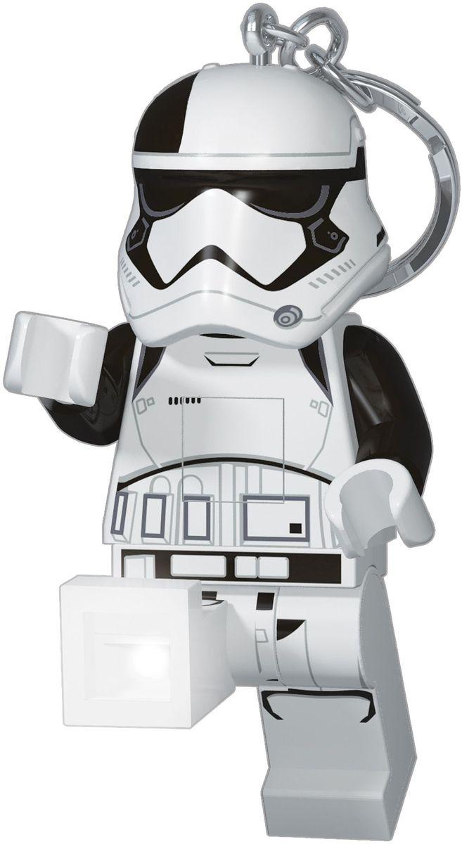 LEGO Брелок-фонарик для ключей Star Wars Stormtrooper Executioner (Штормтрупер Первый орден) lego lego брелок для ключей джестро