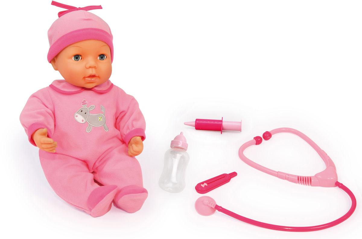 Bayer Design Игровой набор Малыш у доктора с куклой кукла yako m6579 6