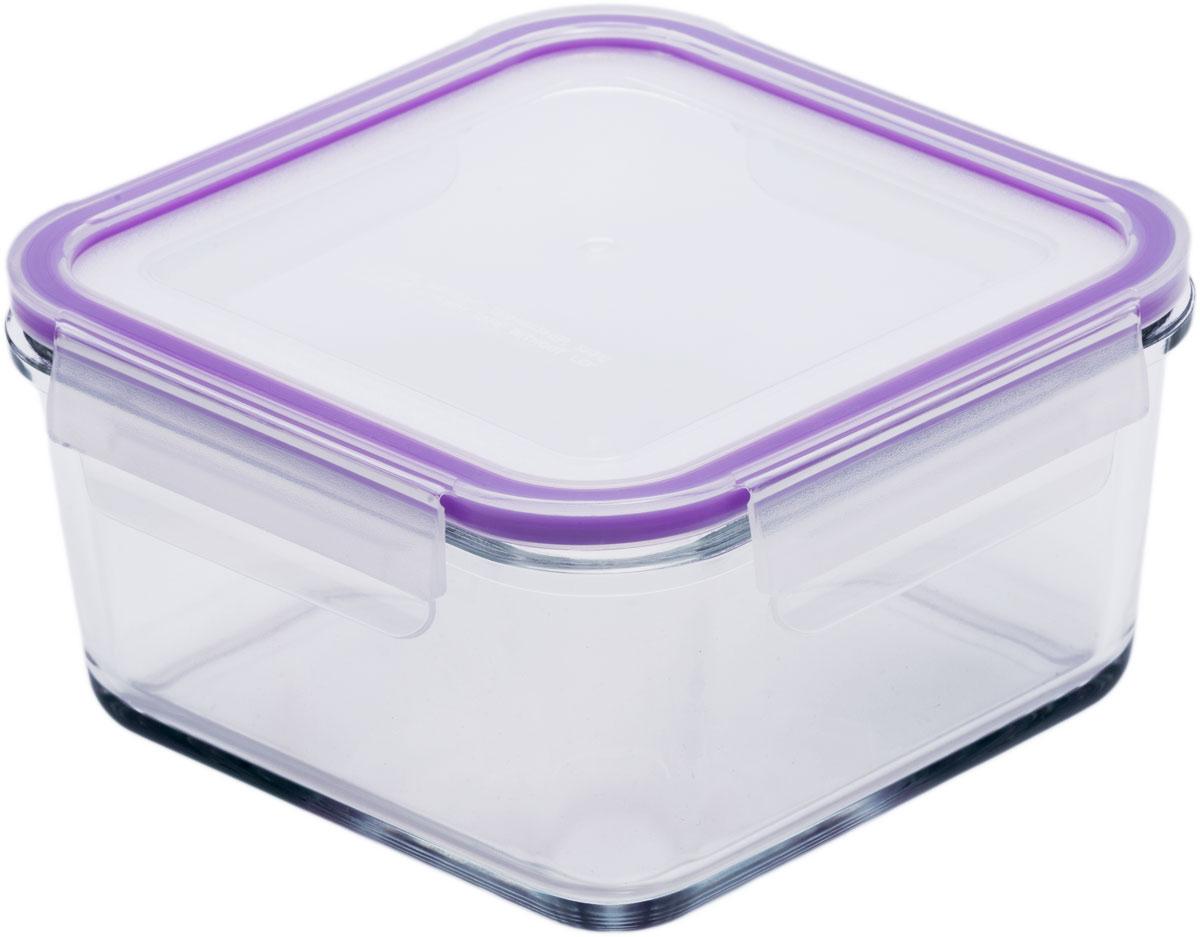 """Квадратный пищевой контейнер """"Eley"""" выполнен из жаропрочного боросиликатного стекла. Крышка Air Lock изготовлена из полипропилена и оснащена силиконовым уплотнителем, для обеспечения полной герметичности внутри контейнера.  Он подходит для использования в микроволновой печи и духовке (без крышки). Подходит для использования в холодильнике и морозильной камере. Подходит для использования в посудомоечной машине.  Контейнер можно использовать как форму для запекания (до +400 С)."""