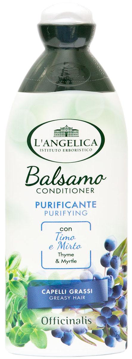 Langelica Кондиционер очищающий для жирных волос, с тимьяном, 250 мл535-3-41500Очищающий кондиционер делает ваши волосы мягкими и блестящими, облегчает процесс расчесывания. Особенно эффективен для жирных волос и кожи головы, благодаря очищающим свойствам экстракта тимьяна и мирта. Волосы наполняются жизненной силой, улучшается их внешний вид.