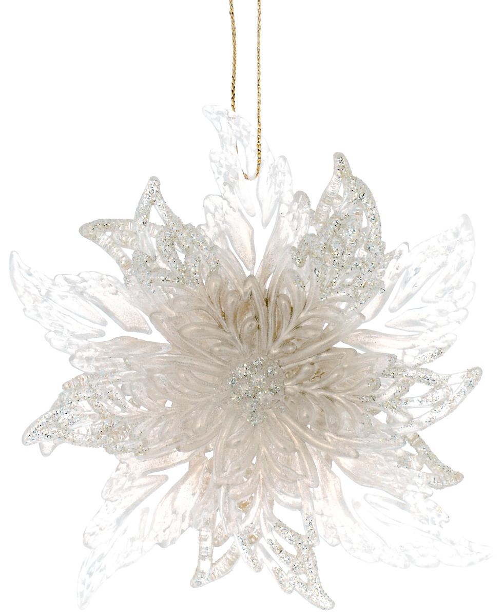 Украшение для интерьера новогоднее Erich Krause Рождественский цветок, 11,5 см38155Украшение в виде цветка, имеющего объемную текстуру, украшено сверкающими блестками. Новогодние украшения всегда несут в себе волшебство и красоту праздника. Создайте в своем доме атмосферу тепла, веселья и радости, украшая его всей семьей.