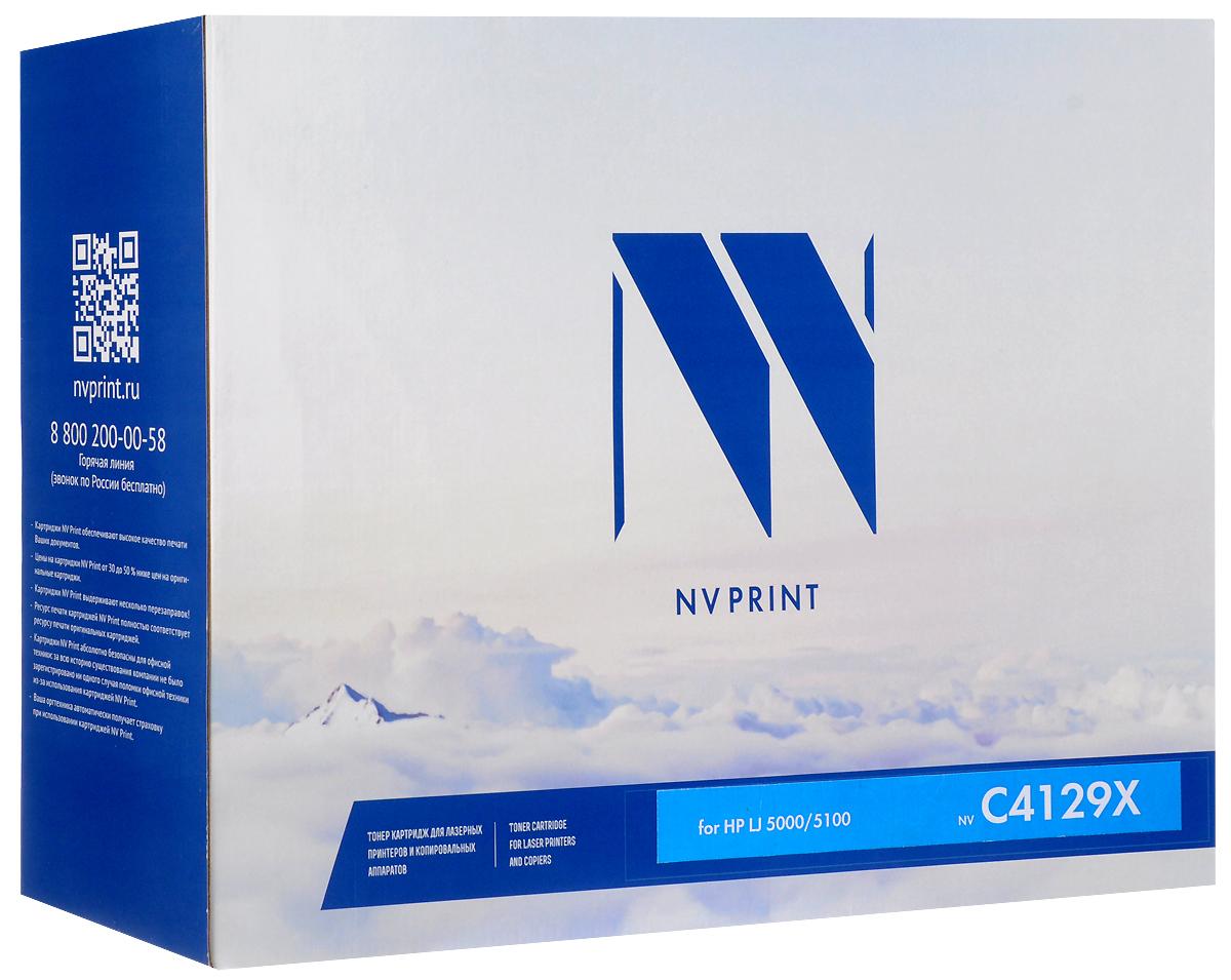 NV Print C4129X, Black тонер-картридж для HP LaserJet 5000/5100/5100dtn/5100tn картридж для принтера nv print hp q5949x q7553x black