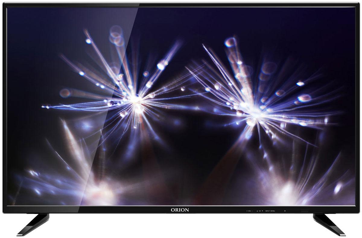 Orion OLT-32802, Black телевизор11566Orion OLT-32802 – LED-телевизор с 32-дюймовым экраном, который займёт достойное место в небольшой гостиной. Эта модель воспроизводит чёткую детализированную картинку с яркими, реалистичными цветами. Она оборудована тюнером, позволяющим принимать передачи цифрового ТВ в высоком качестве, без каких-либо помех и искажений.Два встроенных 6-ваттных динамика хорошо передают речь актёров и ведущих, музыку, аудиоэффекты в современных фильмах. Благодаря этому вы получите от просмотра максимум удовольствия.Разнообразные интерфейсы, в том числе порты HDMI и USB, позволяют использовать телевизор с игровой консолью, мобильными девайсами, ноутбуками, проигрывателями DVD-дисков. Благодаря этому вы можете играть на большом экране, смотреть видео и фотографии с различных носителей. Встроенный медиаплеер поддерживает множество типов файлов.
