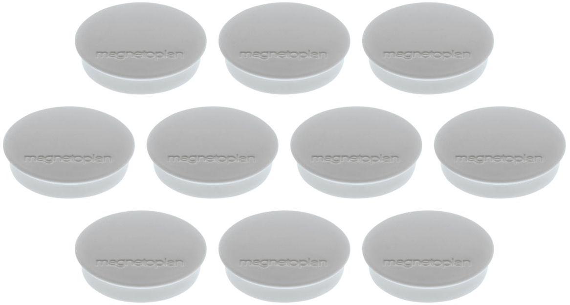 Magnetoplan Standart Набор магнитов серые 10 шт -  Аксессуары для досок и флипчартов
