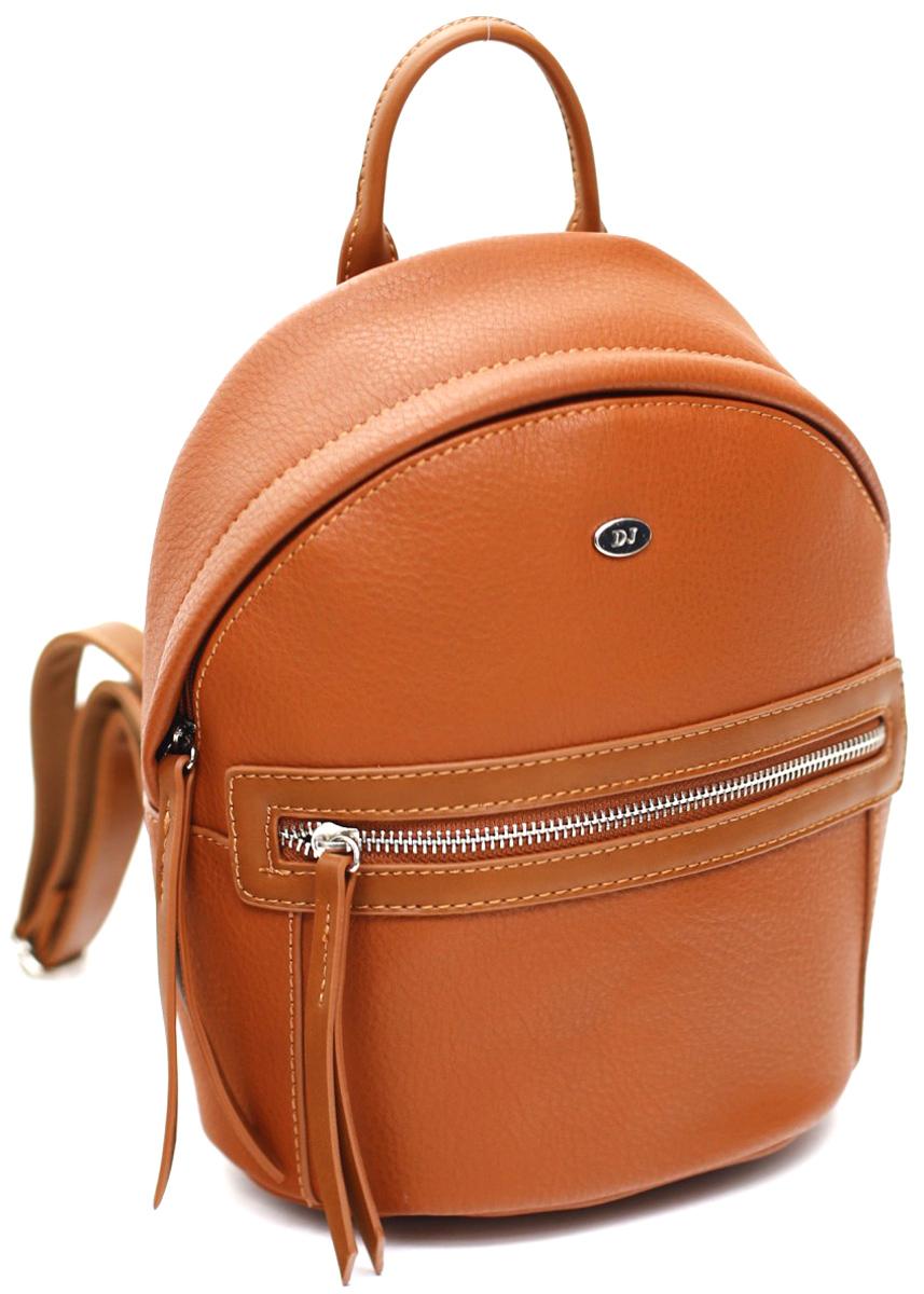Рюкзак женский David Jones, цвет: коричневый. СМ3520 COGNAC рюкзак женский david jones цвет красный cm3717 red