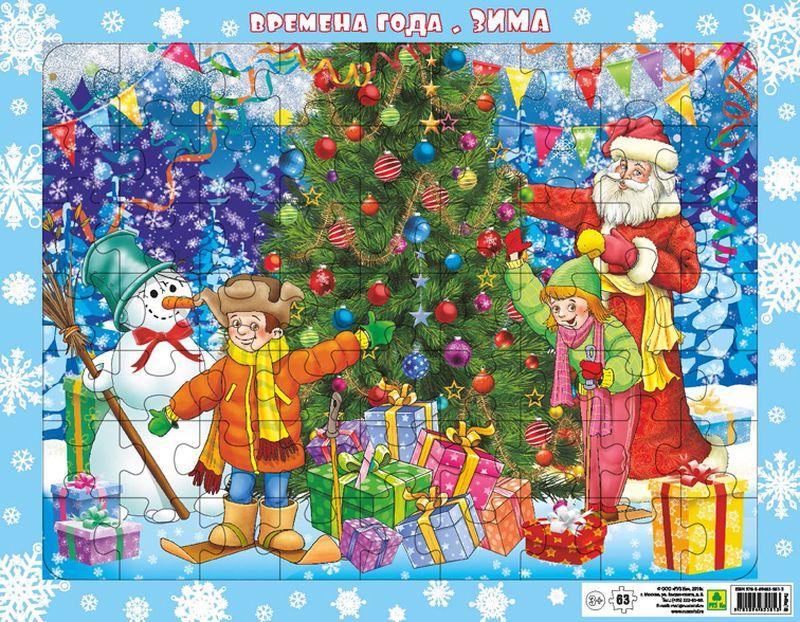 РУЗ Ко Пазл Времена года Зима Новый год
