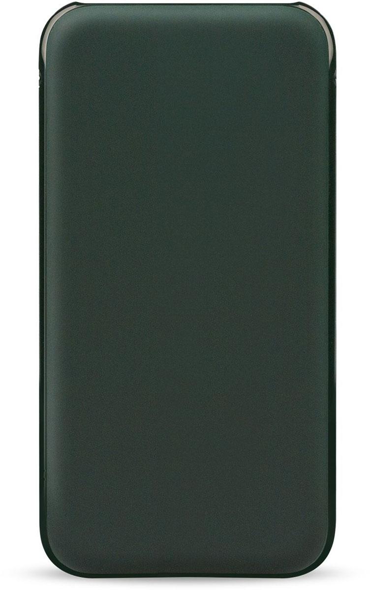 Rombica Neo NS120G Quick, Dark Green внешний аккумулятор (12000 мАч)NSQ-00121Внешний аккумулятор Rombica Neo NS120G Quick заряжает большинство мобильных устройств: смартфоны, планшеты, плееры, цифровые камеры и т.д. Благодаря порту с поддержкой Quick Charge 3.0 позволяет заряжать устройства до двух раз быстрее. Оборудован батареей большой емкости, что позволяет в условиях отдаленности от электрических сетей, продлить использование мобильных устройств. Быстро заряжается и заряжаетЛитий-полимерный аккумуляторМножественная система защиты для безопасной зарядки устройствДва USB выхода. Зарядка двух устройств одновременноСофт-тач покрытие корпуса Зарядка от любого кабеля: microUSB или Lightning