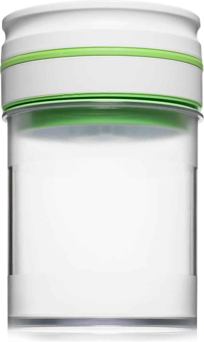 Контейнер вакуумный Comboez, 800 млCK009SПластиковый вакуумный контейнер-маринатор Comboez идеально подходит для быстрого маринования овощей, фруктов, мяса и рыбы. Контейнер позволит сохранить презентабельный вид продуктов и продлить их свежесть. Контейнер изготовлен из высококачественного пищевого пластика, который при взаимодействии с продуктами не окрашивается и не впитывает запахов. Автоматический вакуумный насос интегрирован в герметичную крышку. В случае ослабления, вакуум автоматически восстанавливается.Тип питания - батарейка тип С (1,5 х 2) или АА. Элементы питания в комплект не входят.