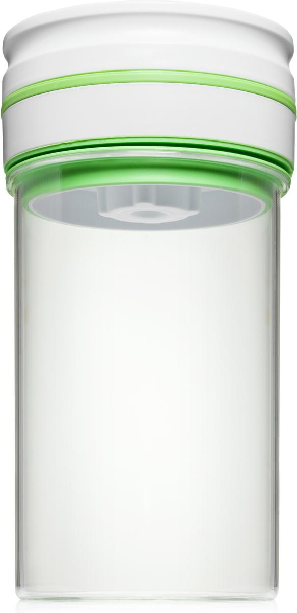 Контейнер вакуумный Comboez, 1,3 л. CK009G3CK009G3Стеклянный вакуумный контейнер-маринатор Comboez идеально подходит для быстрого маринования овощей, фруктов, мяса и рыбы. Контейнер позволит сохранить презентабельный вид продуктов и продлить их свежесть. Идеально подходит для хранения сыпучих продуктов. Контейнер изготовлен из высококачественного экологически чистого стекла, которое при взаимодействии с продуктами не окрашивается и не впитывает запахов.Автоматический вакуумный насос интегрирован в герметичную крышку. В случае ослабления, вакуум автоматически восстанавливается. Тип питания - батарейка тип С или АА. Элементы питания в комплект не входят.