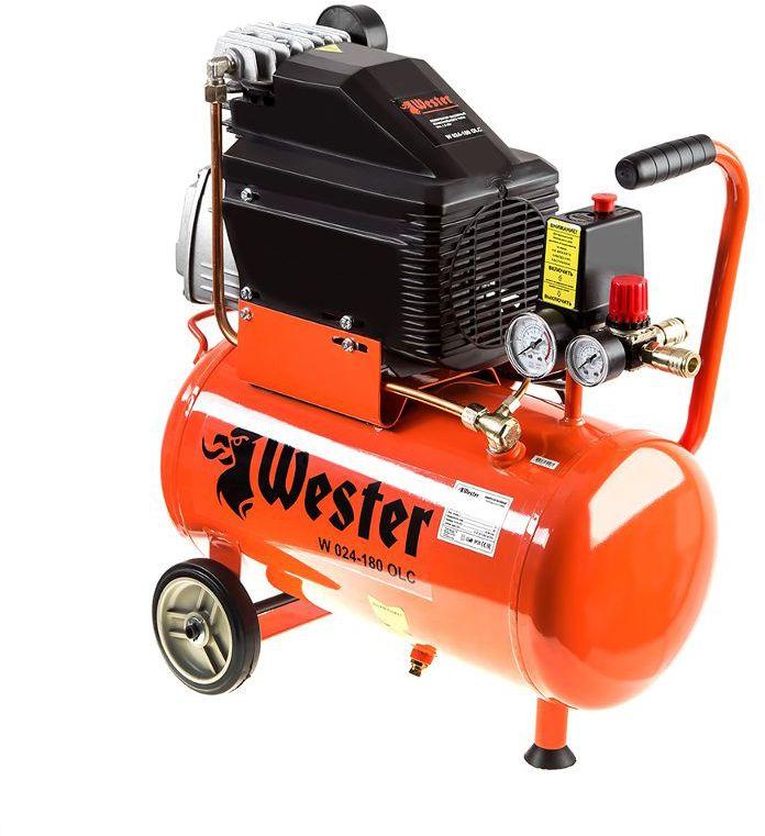 Компрессор Wester W 024--180 OLC компрессор wester w 024 180 olc