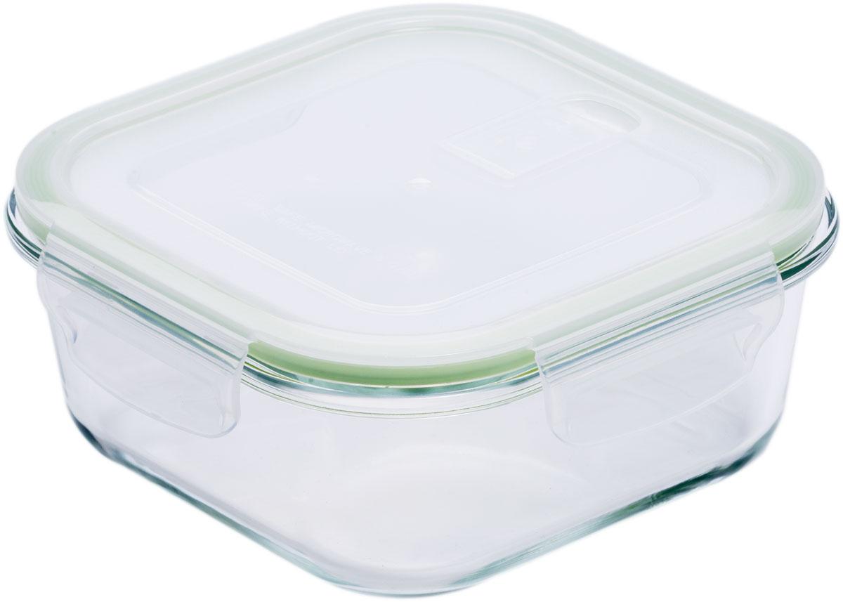 Контейнер пищевой Eley, квадратный, цвет: зеленый, 1,2 лELP2204GПрямоугольный пищевой контейнер Eley выполнен из жаропрочного боросиликатного стекла. Крышка Air Lock изготовлена из полипропилена иоснащена силиконовым уплотнителем, для обеспечения полной герметичности внутри контейнера. В крышку встроен вентиляционный клапан дляудобства использования в холодильных и морозильных камерах.Он подходит для использования в микроволновой печи и духовке (без крышки). Подходит для использования в холодильнике и морозильной камере. Подходит для использования в посудомоечной машине.Контейнер можно использовать как форму для запекания (до +400 С).
