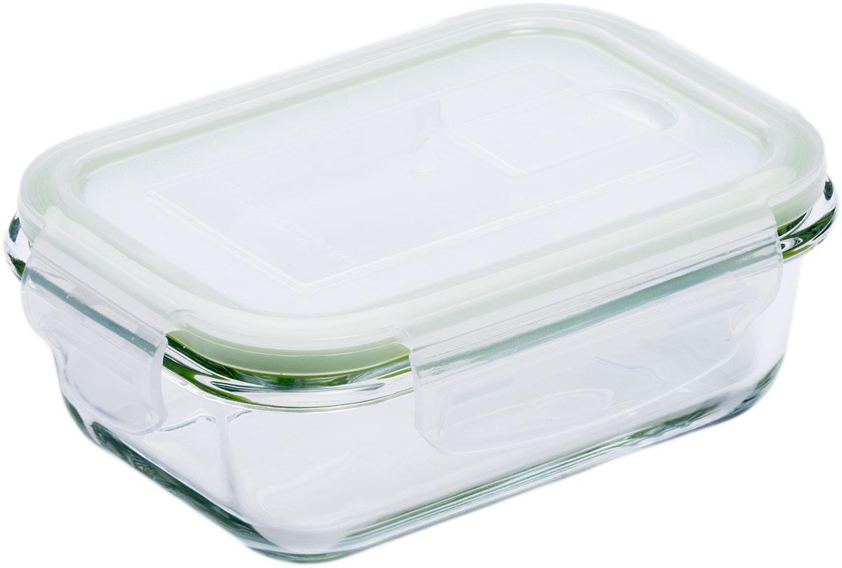 Контейнер пищевой Eley, прямоугольный, цвет: зеленый, 370 мл. ELP2401GELP2401GПрямоугольный пищевой контейнер Eley выполнен из жаропрочного боросиликатного стекла. Крышка Air Lock изготовлена из полипропилена иоснащена силиконовым уплотнителем, для обеспечения полной герметичности внутри контейнера. В крышку встроен вентиляционный клапан дляудобства использования в холодильных и морозильных камерах.Он подходит для использования в микроволновой печи и духовке (без крышки). Подходит для использования в холодильнике и морозильной камере. Подходит для использования в посудомоечной машине.Контейнер можно использовать как форму для запекания (до +400 С).