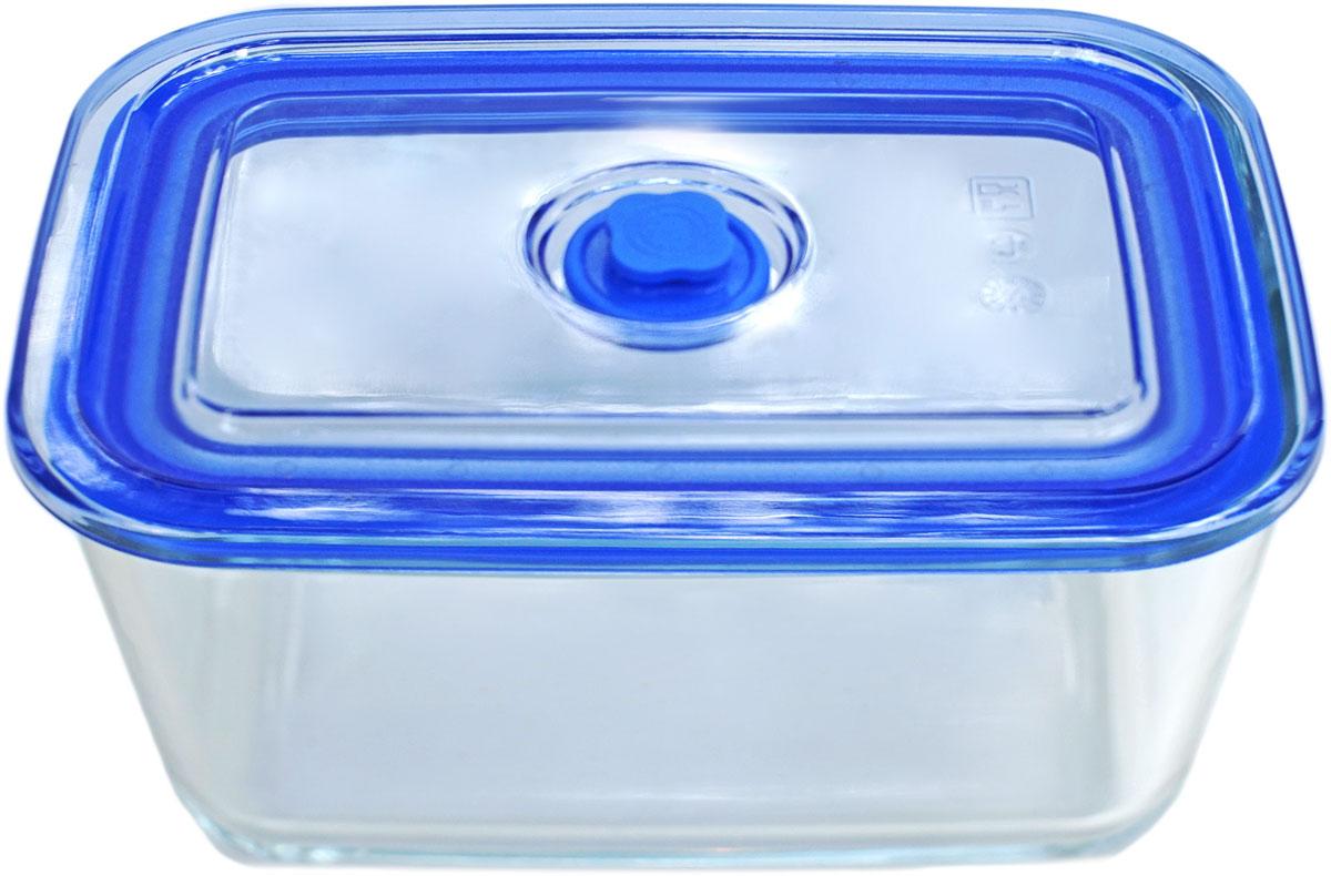 Контейнер пищевой Eley, цвет: синий, 500 млELV5401BКонтейнер прямоугольный Eley 500 мл пищевой из жаропрочного боросиликатного стекла.1. Подходит для использования в микроволновой печи и духовке (без крышки); 2. Подходит для использования в холодильнике и морозильной камере; 3. Подходит для использования в посудомоечной машине; 4. Можно использовать как форму для запекания (до +400 С). 5. Крышка Air Lock изготовлена из полипропилена и оснащена силиконовым уплотнителем, для обеспечения полной герметичности внутри контейнера.6. В крышку встроен вентиляционный клапан для удобства использования в холодильных и морозильных камерах.