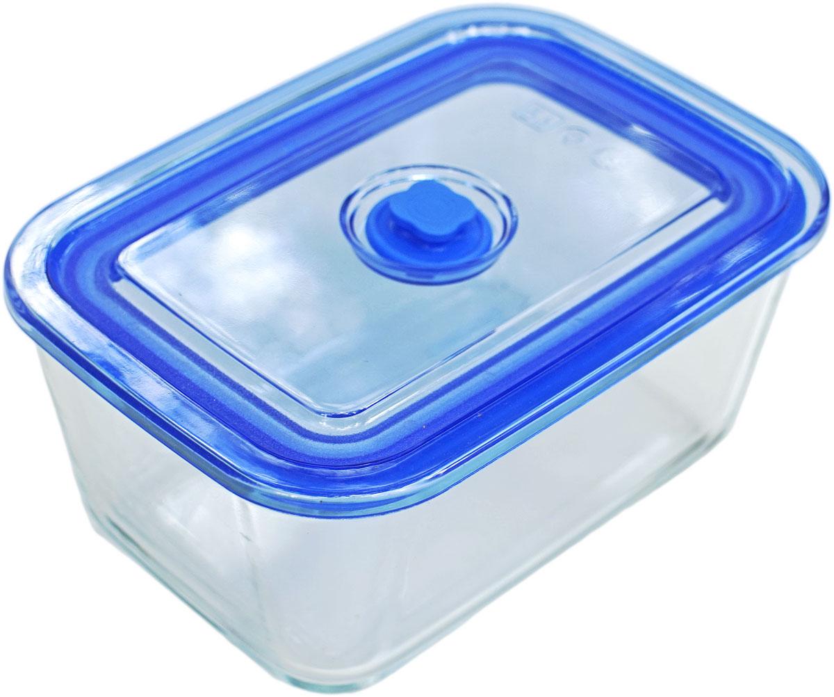 Контейнер пищевой Eley, прямоугольный, цвет: синий, 1,5 лELV5402BПрямоугольный пищевой контейнер Eley выполнен из жаропрочного боросиликатного стекла. Крышка Air Lock изготовлена из полипропилена иоснащена силиконовым уплотнителем, для обеспечения полной герметичности внутри контейнера. В крышку встроен вентиляционный клапан дляудобства использования в холодильных и морозильных камерах.Он подходит для использования в микроволновой печи и духовке (без крышки). Подходит для использования в холодильнике и морозильной камере. Подходит для использования в посудомоечной машине.Контейнер можно использовать как форму для запекания (до +400 С).