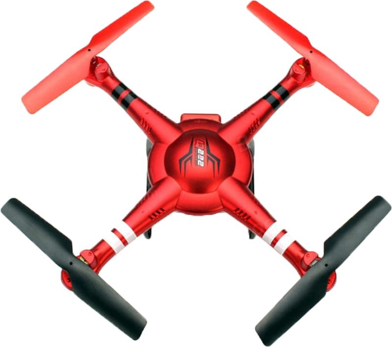 Wltoys Квадрокоптер на радиоуправлении Q222K цвет красный квадрокоптер wltoys q393e