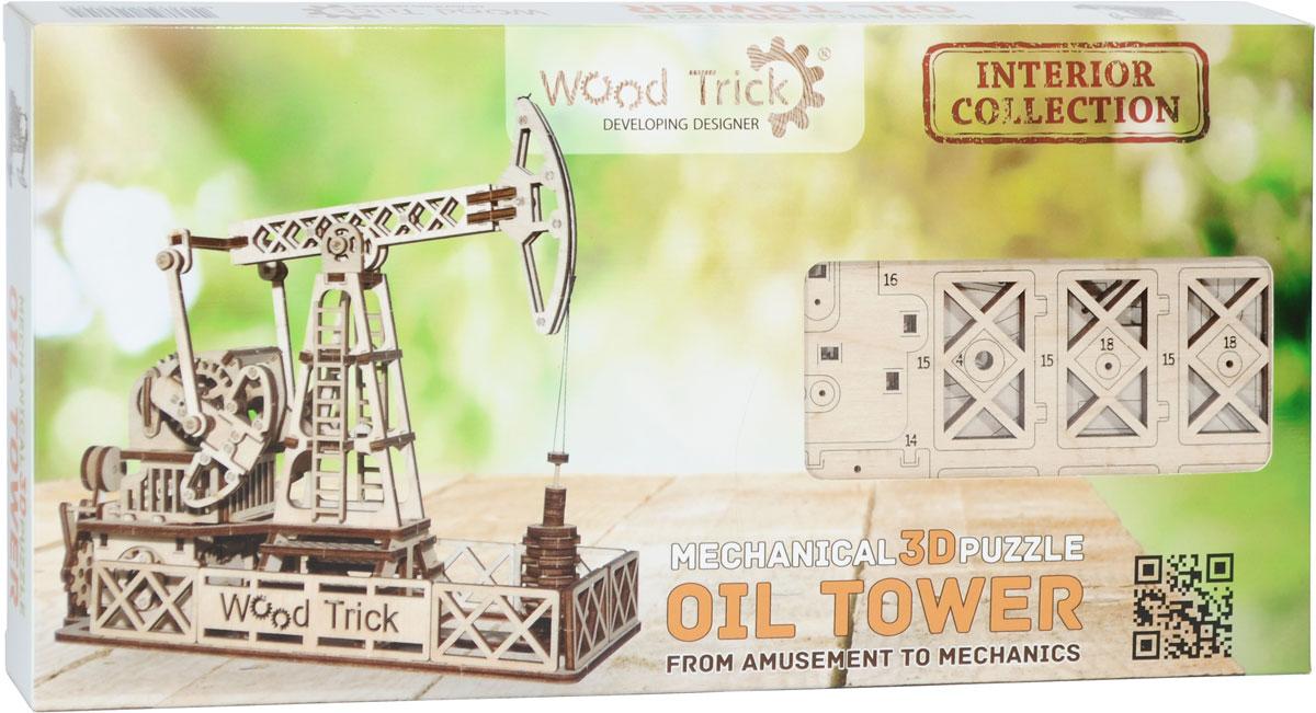 Wood Trick 3D Пазл Нефтяная вышка