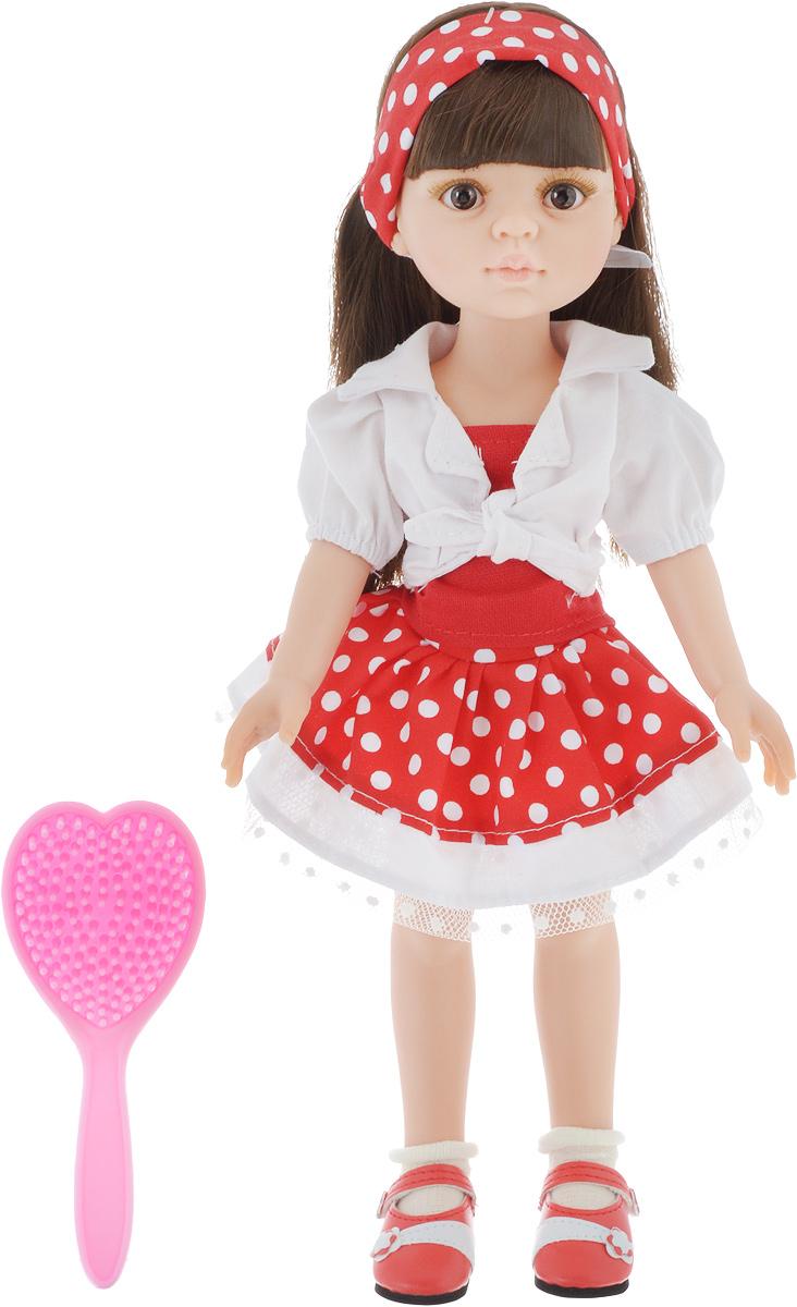 Paola Reina Кукла Кэрол 32 см красное платье