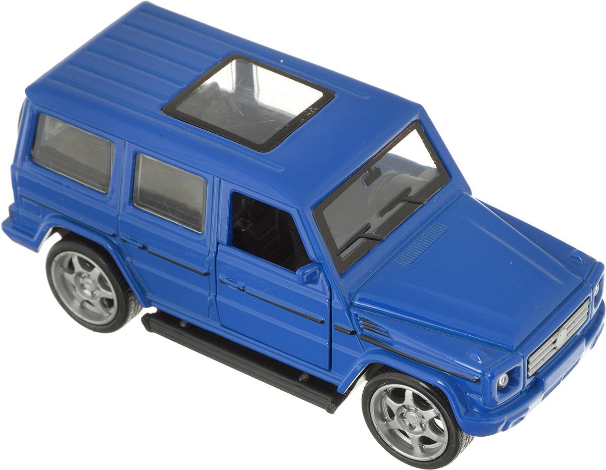 ТехноПарк Машинка инерционная Джип цвет синий технопарк машинка инерционная lamborghini gallardo цвет фиолетовый