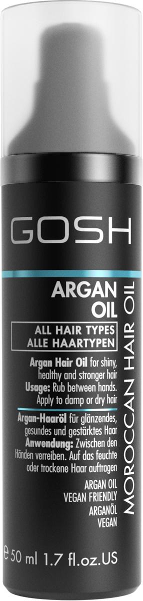 Gosh Масло для волос аргановое для силы и блеска Argan Oil, 50 мл785890GOSH Линия для стайлинга и ухода за волосами - высокоэффективный специализированный уход для красоты и здоровья волос. В ассортименте представлены средства, обеспечивающие оптимальный уход для каждого типа волос – для нормальных, тонких, окрашенных или поврежденных волос. Деликатный состав подходит для ежедневного применения,восстанавливает секущиеся кончики, омолаживает, питает и увлажняет волосы и кожу головы. Сохраняет волосы и кожу головы в здоровом балансе. Все шампуни и кондиционеры содержат активные и питательные ингредиенты,не содержат парабенов. (1011540006;S;N;INT) GOSH Масло для волос аргановое для силы и блеска Argan Oil, 50 мл. Средство предназначено для ухода за всеми типами волос. Идеально подходит для питания, увлажнения и восстановления волос.