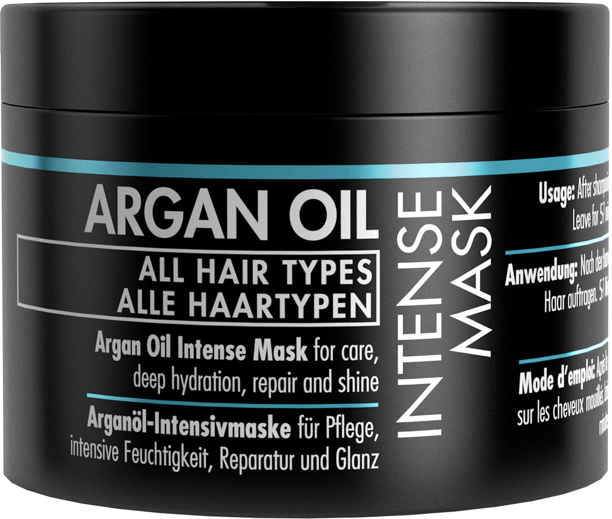 Gosh Маска для волос с аргановым маслом Argan Oil, 175 мл hask argan oil дуо набор для восстановления волос argan oil дуо набор для восстановления волос