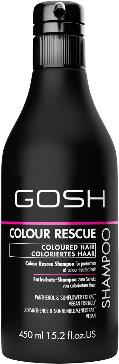Gosh Шампунь для окрашенных волос Colour Rescue, 450 мл851468GOSH Линия для стайлинга и ухода за волосами - высокоэффективный специализированный уход для красоты и здоровья волос. В ассортименте представлены средства, обеспечивающие оптимальный уход для каждого типа волос – для нормальных, тонких, окрашенных или поврежденных волос. Деликатный состав подходит для ежедневного применения,восстанавливает секущиеся кончики, омолаживает, питает и увлажняет волосы и кожу головы. Сохраняет волосы и кожу головы в здоровом балансе. Все шампуни и кондиционеры содержат активные и питательные ингредиенты,не содержат парабенов. (1011510010;S;Colour;INT) GOSH Шампунь для окрашенных волос Colour Rescue, 450 мл. Очищающее средство для волос. Защищает окрашенные волосы от выцветания во время мытья. Бережно нанести небольшое количество шампуня массажными движениями на влажные волосы и кожу головы. Хорошо промыть волосы водой, повторить при необходимости. Избегать попадания в глаза. При попадании промыть водой. Не использовать в целях, отличающихся от прямого назначения продукта. Беречь от детей. Хранить при t от +5°C до +25°C. Состав (ingredients) указан на упаковке. Изготовитель: «E. Tjellesen A/S», Engmosen 1, 3540 Lynge, Denmark/Дания. Уполномоченная компания для принятия претензий и импортер: ОООНеваЛайн 198005, СПб, наб. Обводного кан., д.118А, лит.Е.
