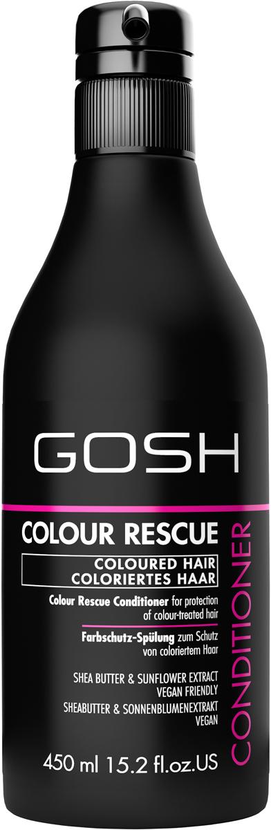 Gosh Кондиционер для окрашенных волос Colour Rescue, 450 мл851469GOSH Линия для стайлинга и ухода за волосами - высокоэффективный специализированный уход для красоты и здоровья волос. В ассортименте представлены средства, обеспечивающие оптимальный уход для каждого типа волос – для нормальных, тонких, окрашенных или поврежденных волос. Деликатный состав подходит для ежедневного применения,восстанавливает секущиеся кончики, омолаживает, питает и увлажняет волосы и кожу головы. Сохраняет волосы и кожу головы в здоровом балансе. Все шампуни и кондиционеры содержат активные и питательные ингредиенты,не содержат парабенов. (1011520007;S;Colour;INT) GOSH Кондиционер для окрашенных волос Colour Rescue, 450 мл. Средство предназначено для ухода за окрашенными волосами.