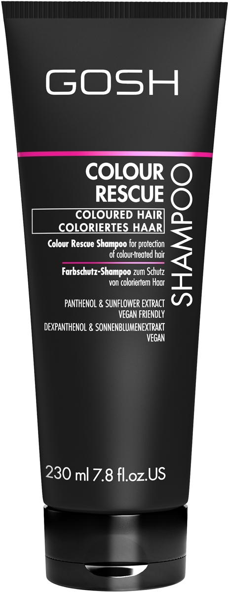 Gosh Шампунь для окрашенных волос Colour Rescue, 230 мл851470GOSH Линия для стайлинга и ухода за волосами - высокоэффективный специализированный уход для красоты и здоровья волос. В ассортименте представлены средства, обеспечивающие оптимальный уход для каждого типа волос – для нормальных, тонких, окрашенных или поврежденных волос. Деликатный состав подходит для ежедневного применения,восстанавливает секущиеся кончики, омолаживает, питает и увлажняет волосы и кожу головы. Сохраняет волосы и кожу головы в здоровом балансе. Все шампуни и кондиционеры содержат активные и питательные ингредиенты,не содержат парабенов. (1011510011;S;Colour;INT) GOSH Шампунь для окрашенных волос Colour Rescue, 230 мл. Очищающее средство для волос. Защищает окрашенные волосы от выцветания во время мытья. Бережно нанести небольшое количество шампуня массажными движениями на влажные волосы и кожу головы. Хорошо промыть волосы водой, повторить при необходимости. Избегать попадания в глаза. При попадании промыть водой. Не использовать в целях, отличающихся от прямого назначения продукта. Беречь от детей. Хранить при t от +5°C до +25°C. Состав (ingredients) указан на упаковке. Изготовитель: «E. Tjellesen A/S», Engmosen 1, 3540 Lynge, Denmark/Дания. Уполномоченная компания для принятия претензий и импортер: ОООНеваЛайн 198005, СПб, наб. Обводного кан., д.118А, лит.Е.