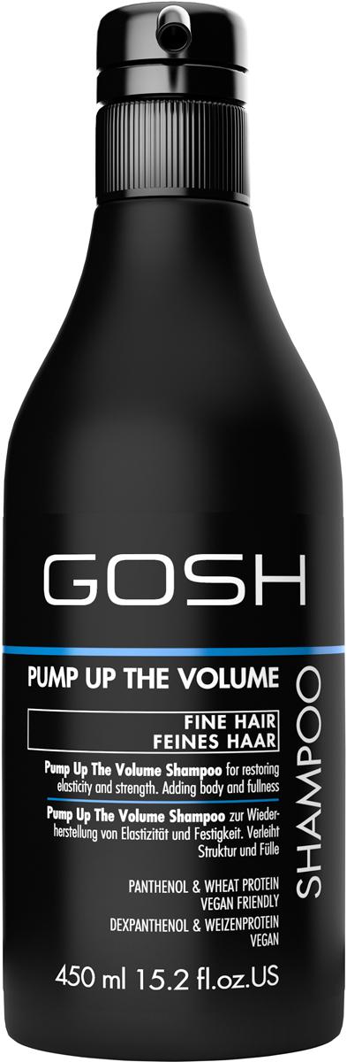 Gosh Шампунь для объема волос Pump Up The Volumе, 450 мл gosh go025lwvio01 gosh
