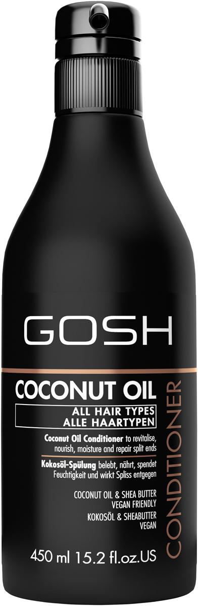 Gosh Кондиционер для волос с кокосовым маслом Coconut Oil, 450 мл gosh go025lwvio01 gosh