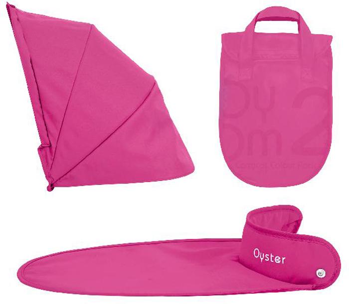 Oyster Набор аксессуаров в коляску Wow Pink 2 предмета