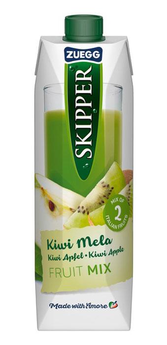 Zuegg Skipper Киви-Яблоко сок, 1 л добрый сок яблоко персик 0 2 л