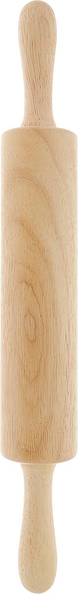 Скалка Green Way, длина 42 см9/879Скалка Oriental way, изготовленная из гевеи, предназначена для раскатывания теста, ее также можно использовать для измельчения крекеров, крошек, формирования мягкого печенья в форме черепков, иногда для отбивания мяса, например, куриных грудок.Благодаря тому что середина скалки крутиться вам не потребуется много усилий, чтобы раскатать тесто. Длина: 42 см.Диаметр: 6,5 см.