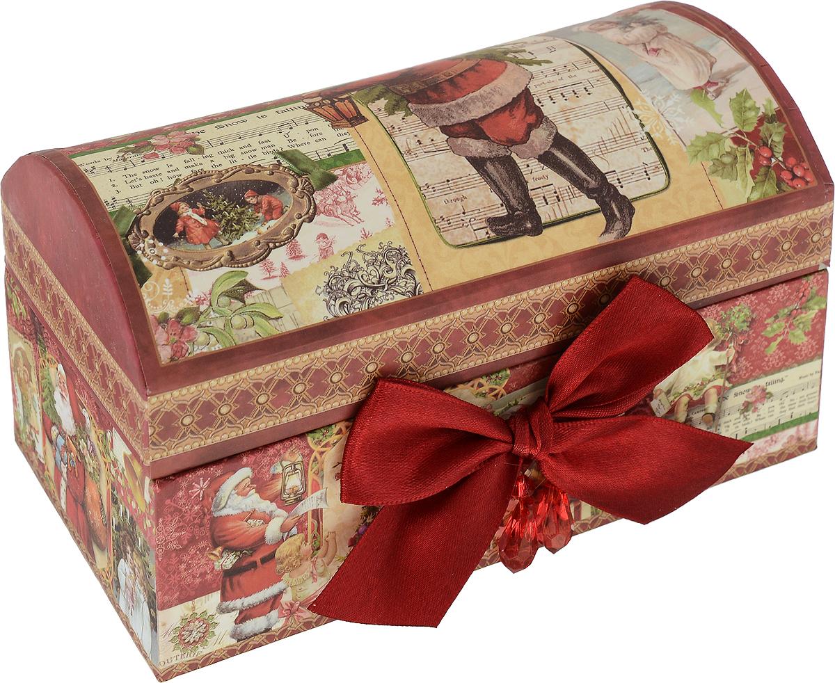 Коробка подарочная Mister Christmas Сундук, 15 х 9 х 9 см mister christmas collection шкатулка подарок st 32
